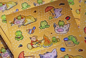 Adorable Pig Stickers