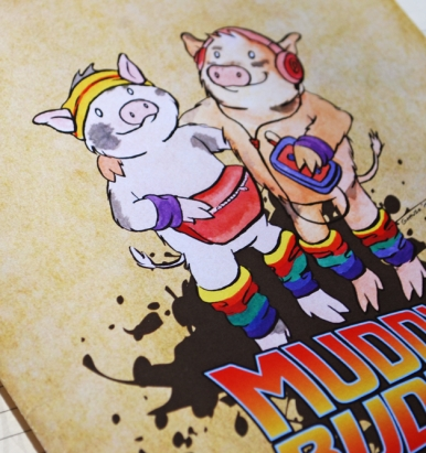 Muddy Buddies Notebook