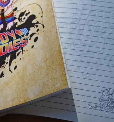 Muddy Buddies Notebook