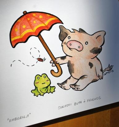 Adorable Pig Print #1