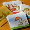 Adorable Pig Stationery Cards