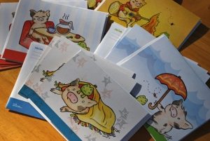 Adorable Pig Stationery