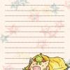 Sukoshi Buta & Friends Notepad Page