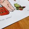 "Halloween Art Print ""Getting Ready"""