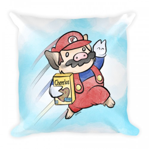 Sukoshi Buta Bros. 2 18″ Pillow