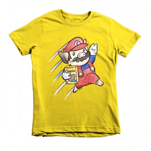 Sukoshi Buta Bros. 2 Short Sleeve Kids T-Shirt