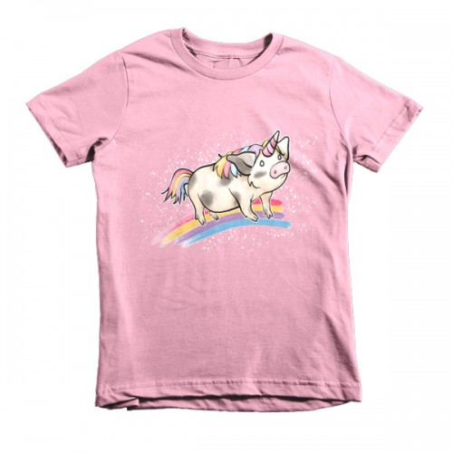 Unipig Short Sleeve Kids T-Shirt