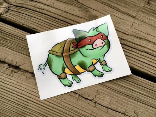 Sukoshi Buta Ninja Turtle Pig
