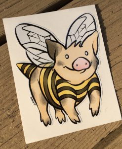 Bee Mine Pig