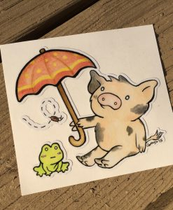 Umbrella Pig