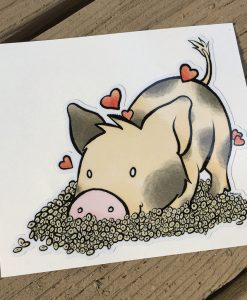 Cheerio Pig Love