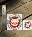 Pig Love Decal
