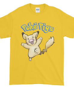 Poké Pigs No.025 Pigachu Unisex T-Shirt