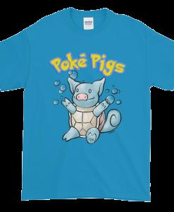 Poké Pigs No.007 Snortle Unisex T-Shirt