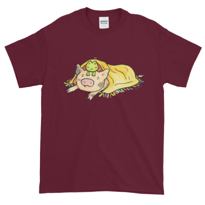 "Sukoshi & Friends ""Blanket"" Unisex T-Shirt"