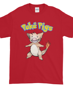 Poké Pigs No.004 Boarmander Unisex T-Shirt