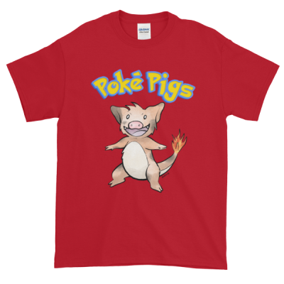 Poké Pigs No.004 Boarmander Unisex T-Shirt