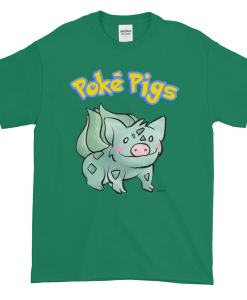 Poké Pigs No.001 Bulbaboar Unisex T-Shirt