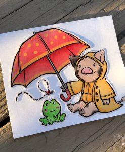 Umbrella Pig 2018