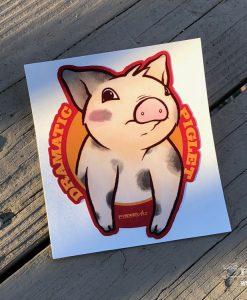 Dramatic Piglet