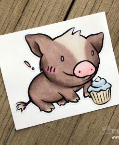 Chotto Buta Cupcake